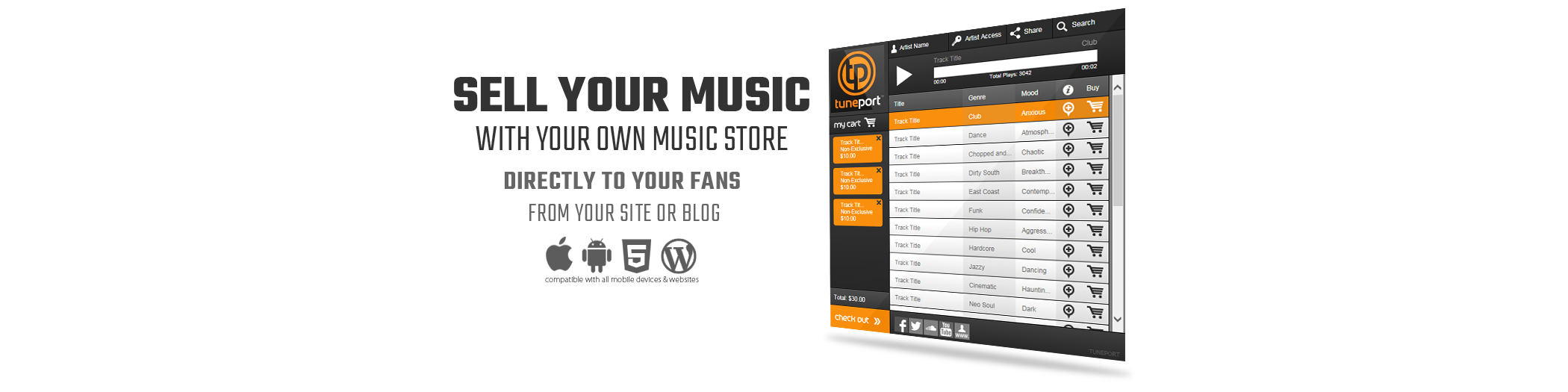 best way to sell music online